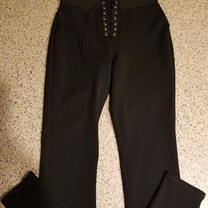 Express SZ XS lace up leggings